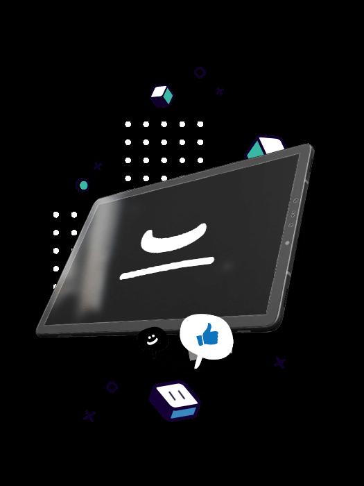 Animation de logo Upcreation